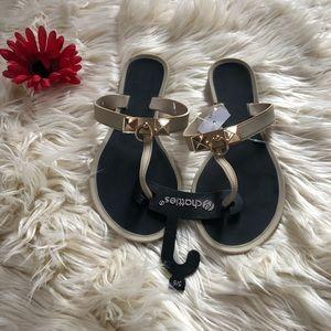 Chatties tan sandals